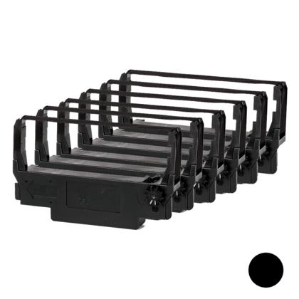 Epson ERC38 ruban compatible noir - 6/paquet