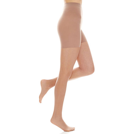 Hanes Powershapers Firm Control Sheer Pantyhose, X-large , White