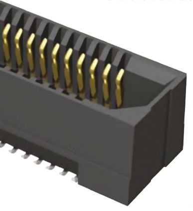Samtec , ERF8 0.8mm Pitch 80 Way 2 Row Straight PCB Socket, Surface Mount, Solder Termination