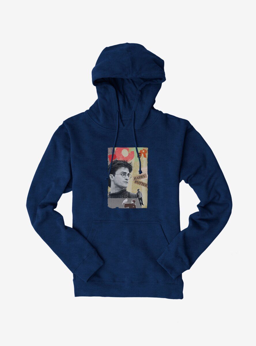 Harry Potter Hedwig And Potter Collage Hoodie