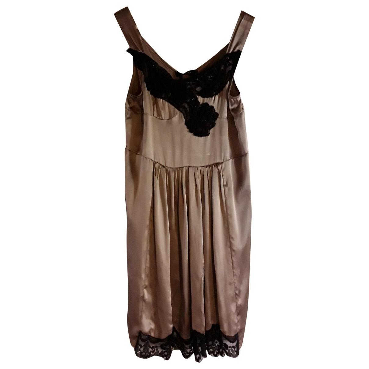 Twin Set \N Pink Silk dress for Women S International