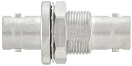 Rosenberger Straight 75Ω RF Adapter BNC Socket to BNC Socket 4GHz