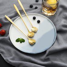 3pcs Flower Design Spoon