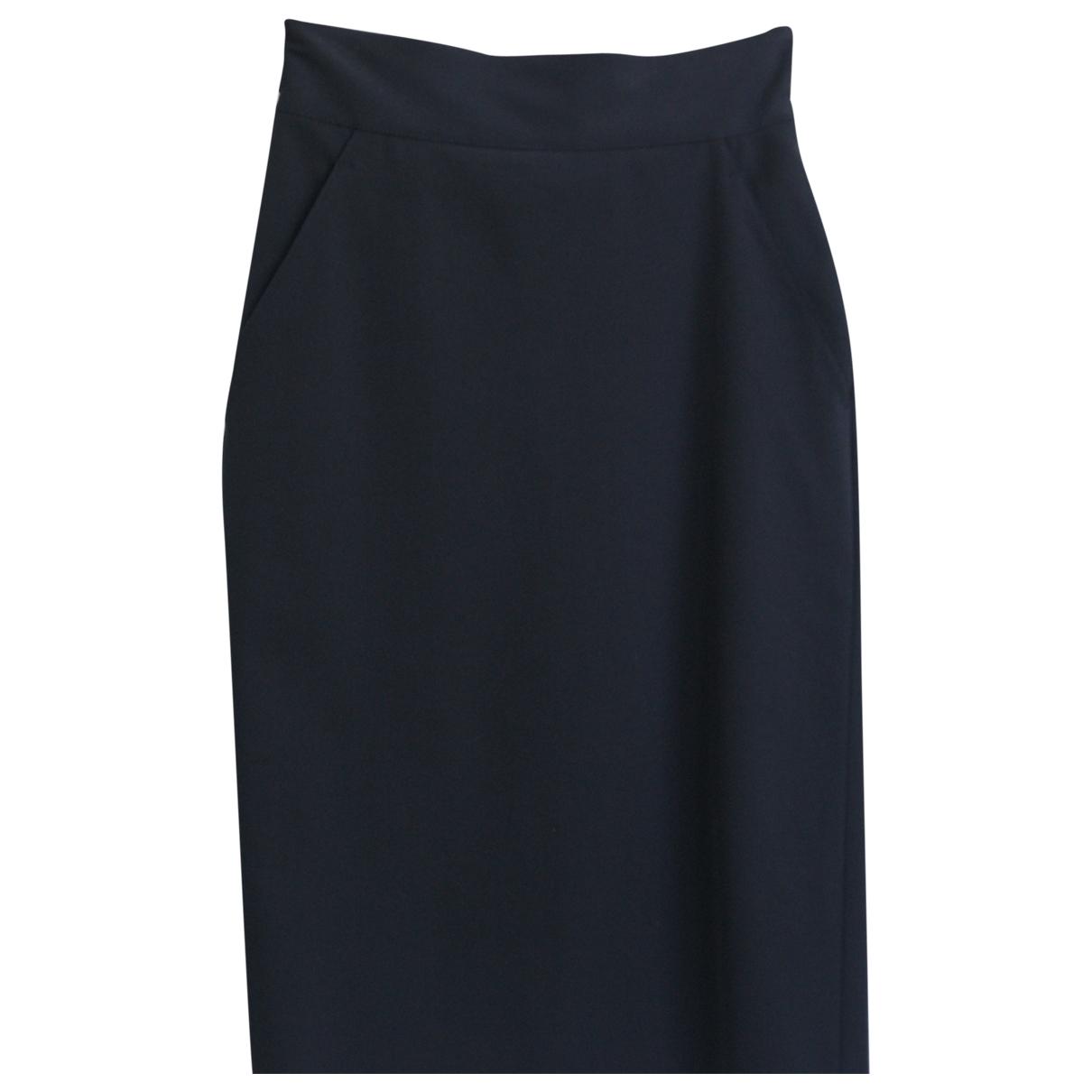 Jean Paul Gaultier \N Black Wool skirt for Women 34 FR