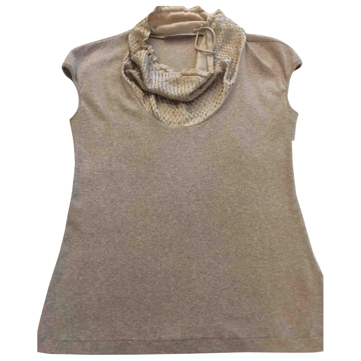 Fabiana Filippi \N Beige Cotton  top for Women 46 IT