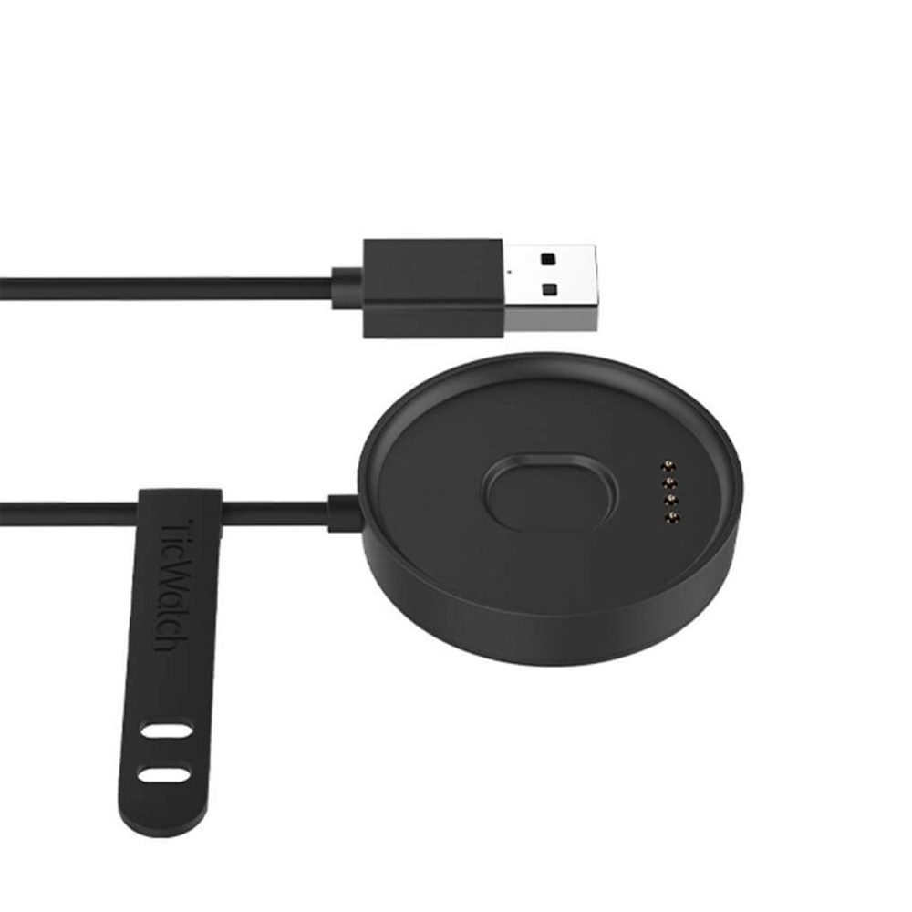 Original Replacement Charger Data Sync USB Charging For Ticwatch C2 - Black