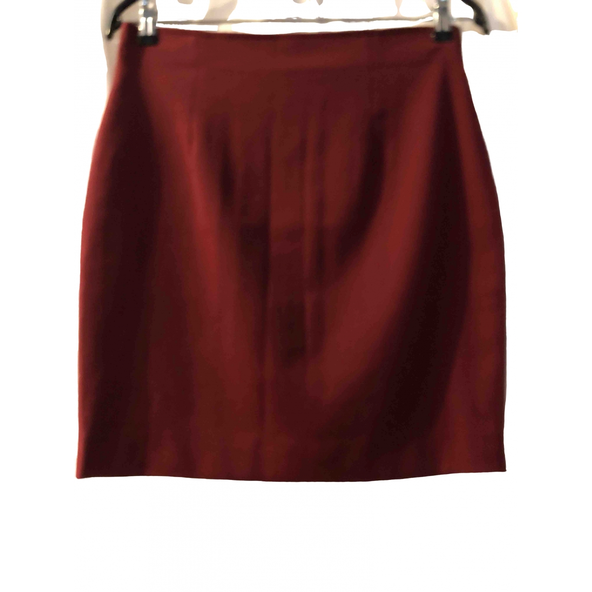Georges Rech \N Burgundy Wool skirt for Women 42 FR