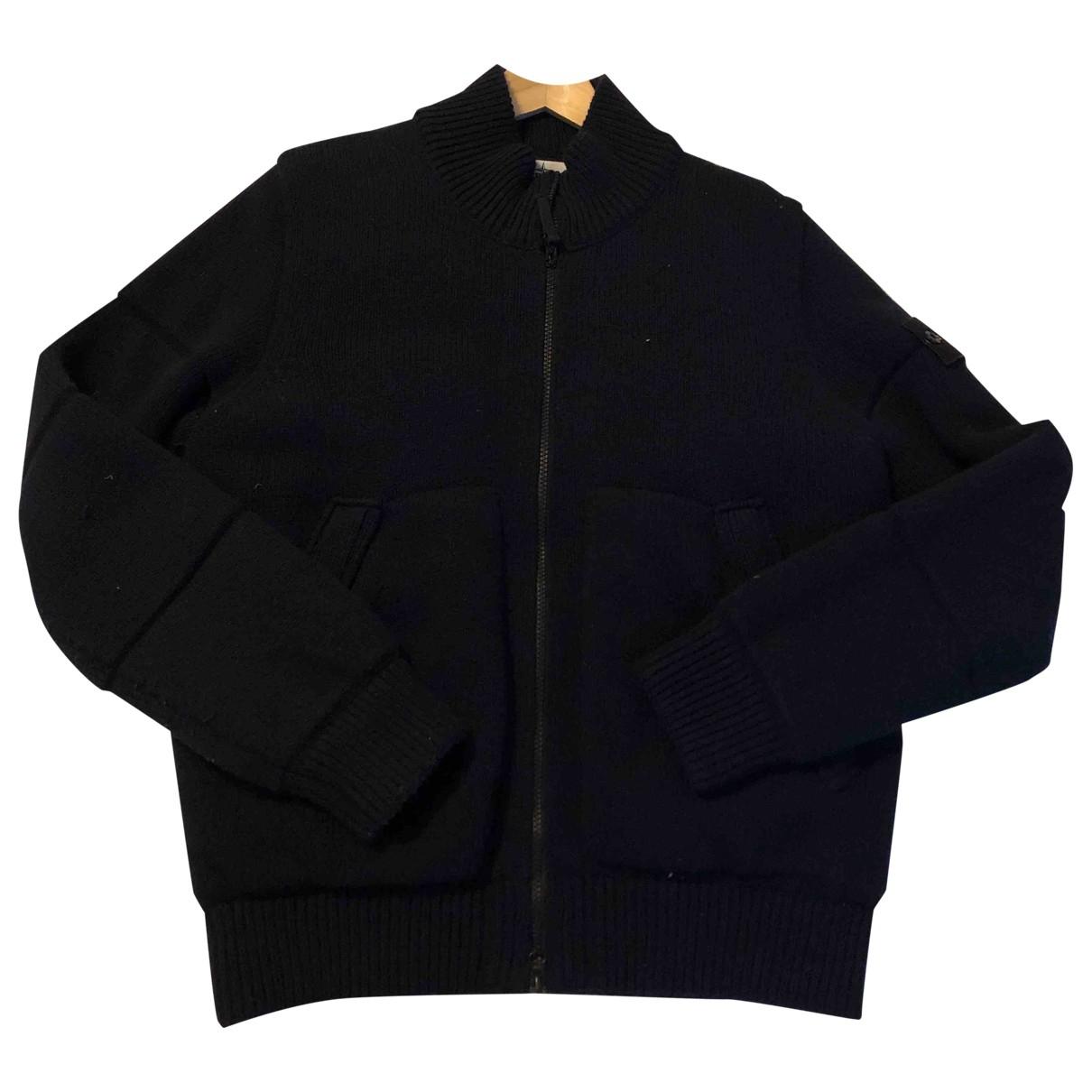 Stone Island \N Blue Wool jacket  for Men L International