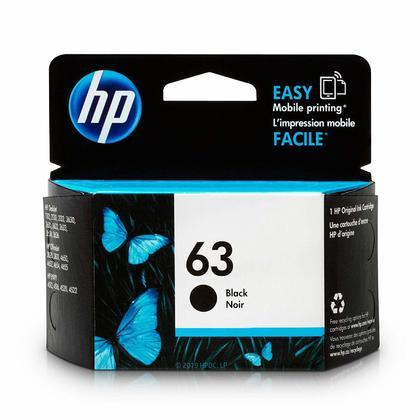 HP 63 F6U62AN cartouche d'encre originale noire