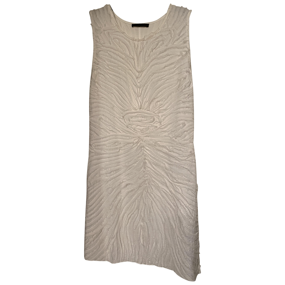 Pinko \N White dress for Women 42 IT