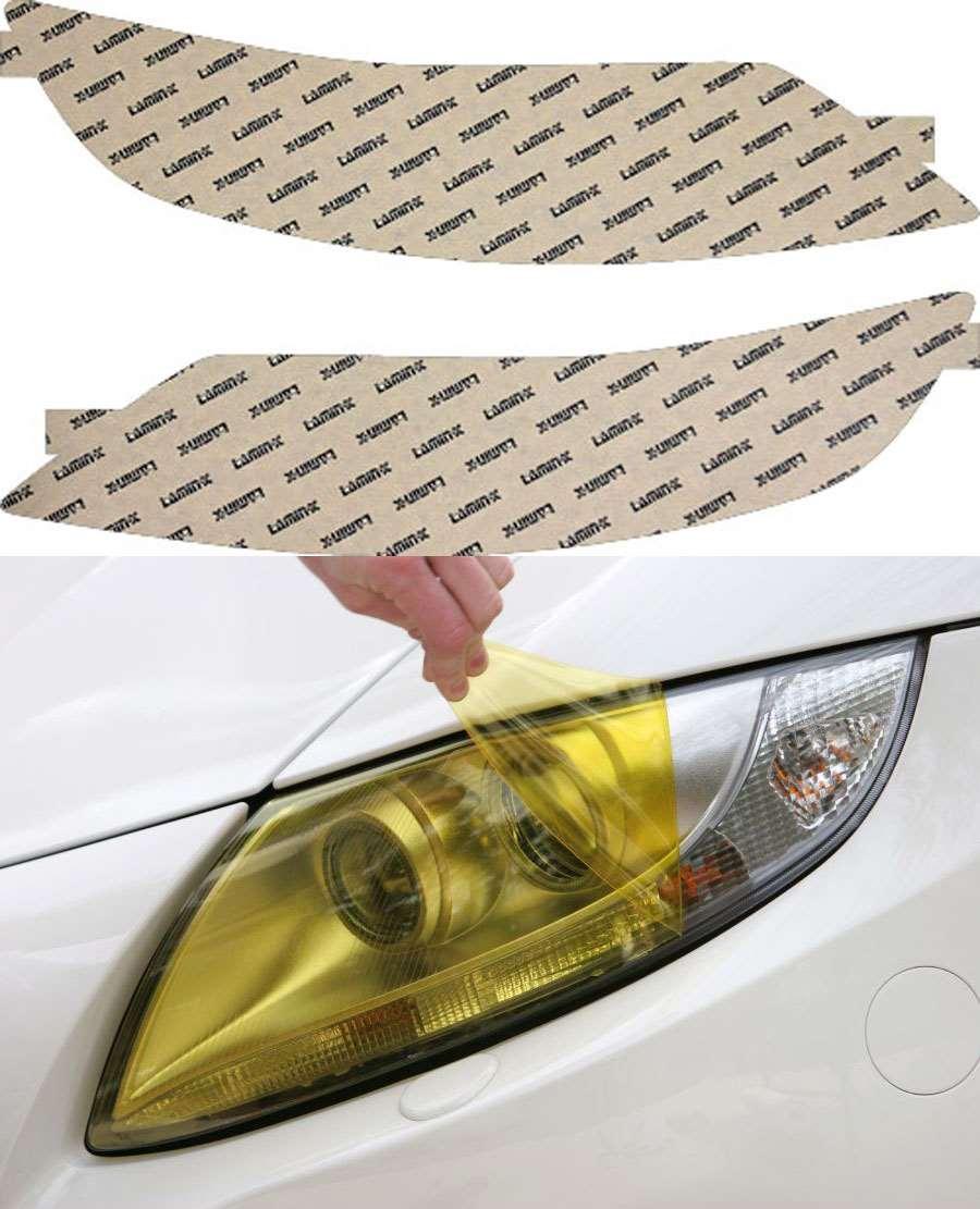 Ford Taurus 10-12 Yellow Headlight Light Covers Lamin-X F031Y