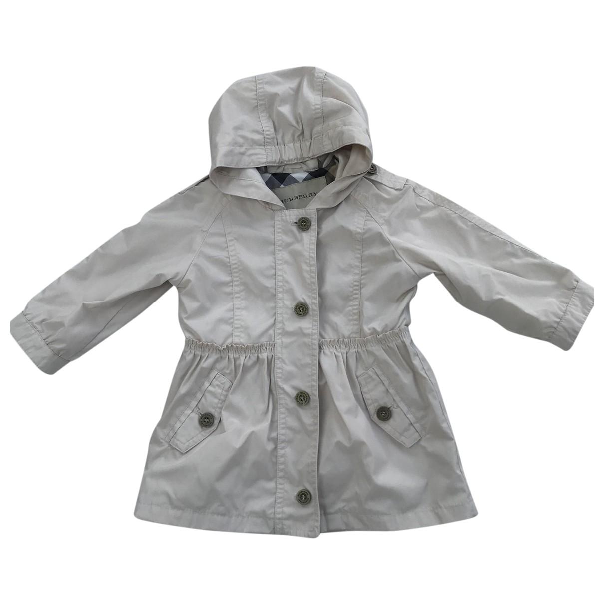 Burberry \N Beige jacket & coat for Kids 12 months - up to 74cm FR