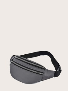 Zip Front Fanny Pack