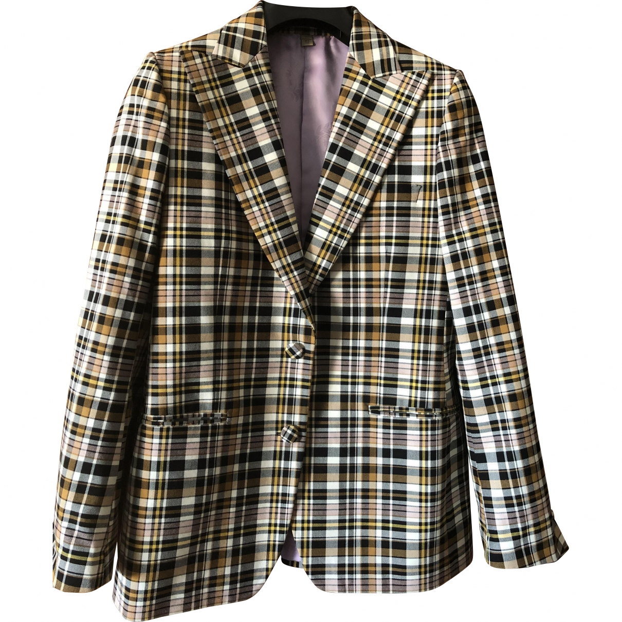 Burberry \N Cotton jacket for Women 44 IT