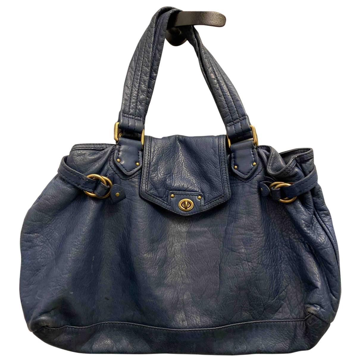 Marc By Marc Jacobs \N Blue Leather handbag for Women \N
