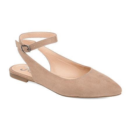 Journee Collection Womens Preea Slip-On Shoe, 9 Medium, Brown