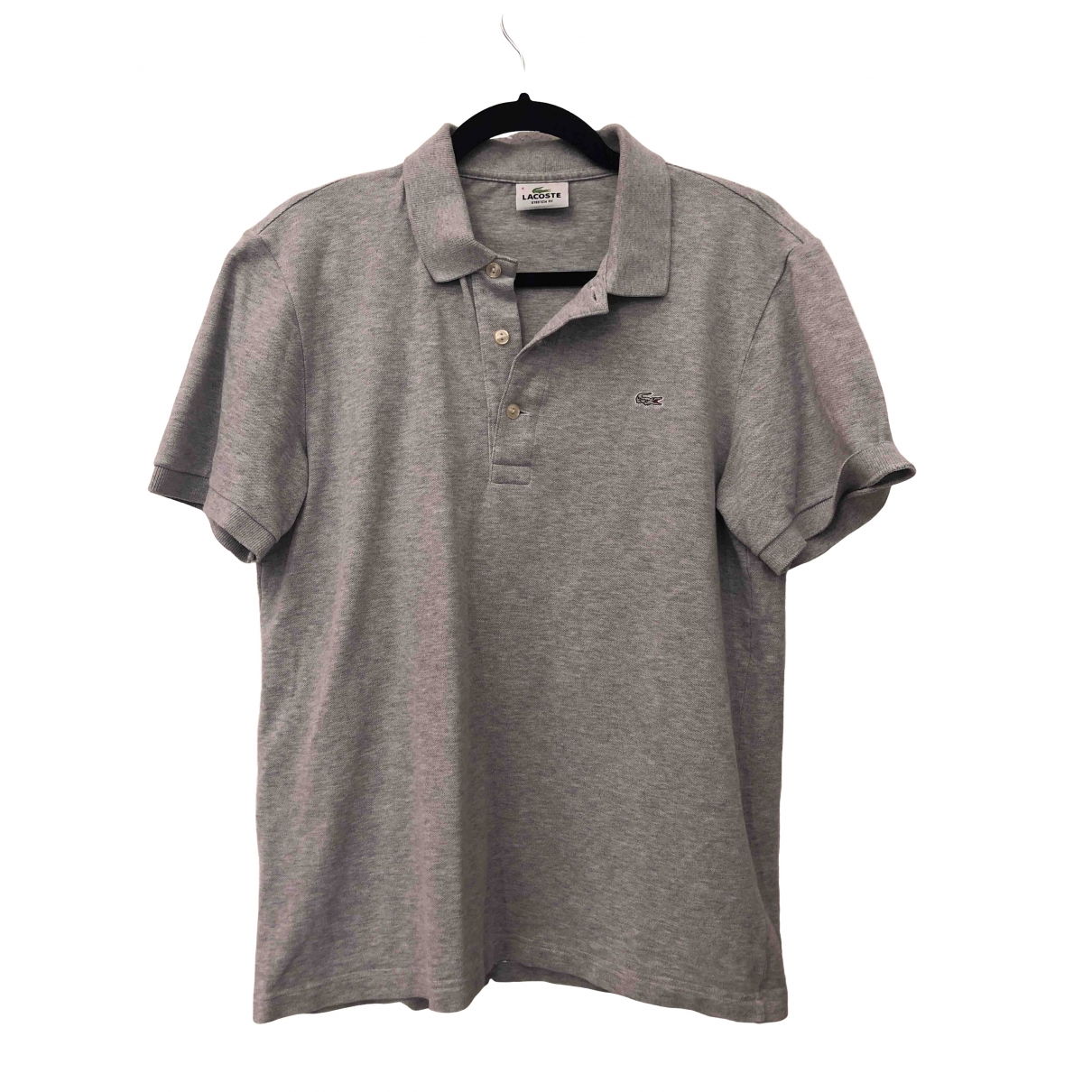 Lacoste \N Grey Cotton Polo shirts for Men 4 0 - 6