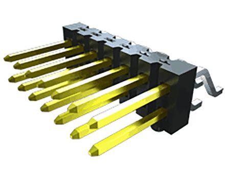 Samtec , TSM, 16 Way, 2 Row, Vertical PCB Header (150)