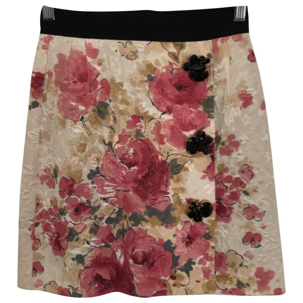 Dolce & Gabbana \N Multicolour Cotton skirt for Women 36 IT