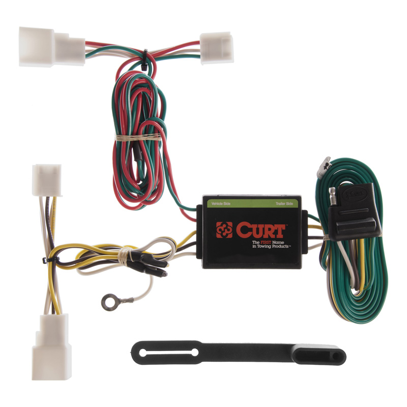 Curt 55308 Custom Wiring Harness (4-Way Flat Output)