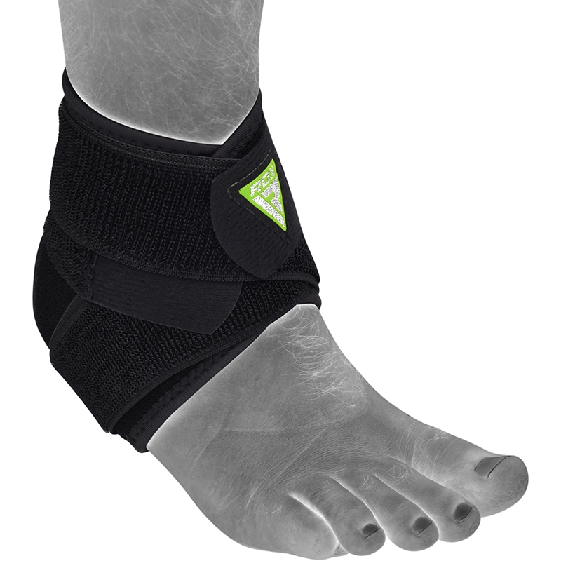 RDX A701 Black Adjustable Ankle Brace for Sprain Protection