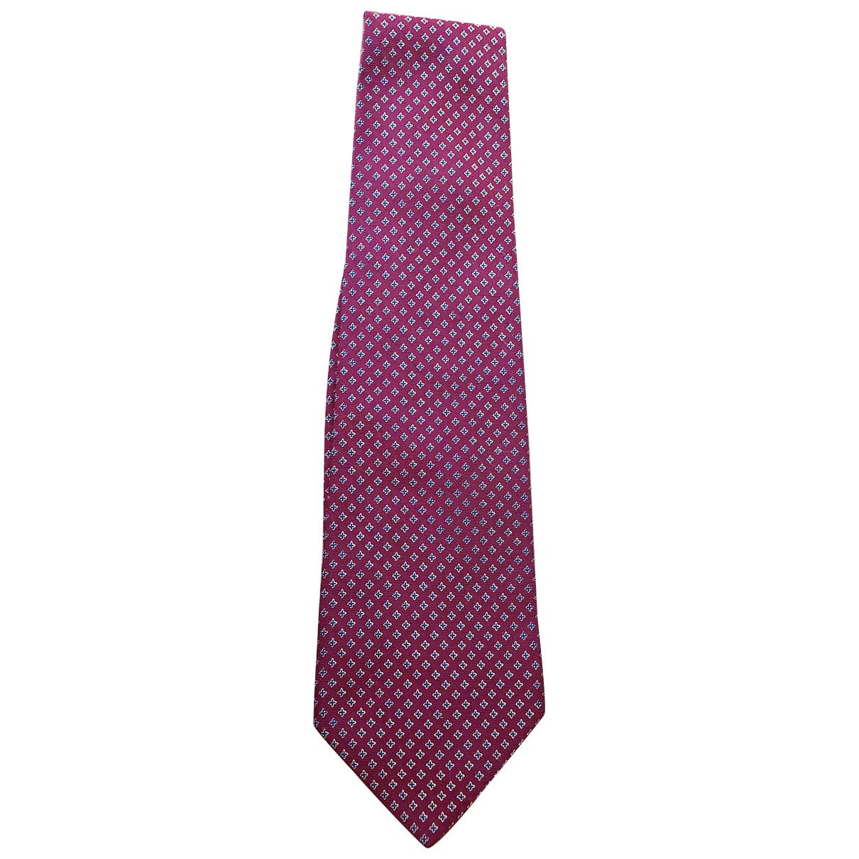Polo Ralph Lauren \N Red Silk Ties for Men \N