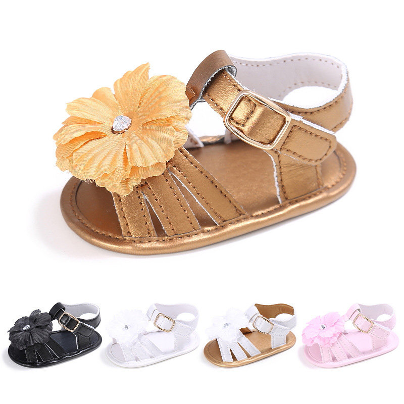 Flower Patch Baby Girls Summer Sandals For 0-24M