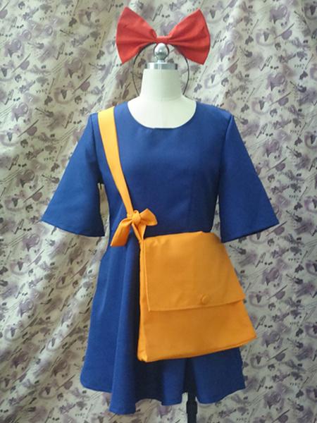 Milanoo Kikis Delivery Service Kiki Cosplay Costume Halloween