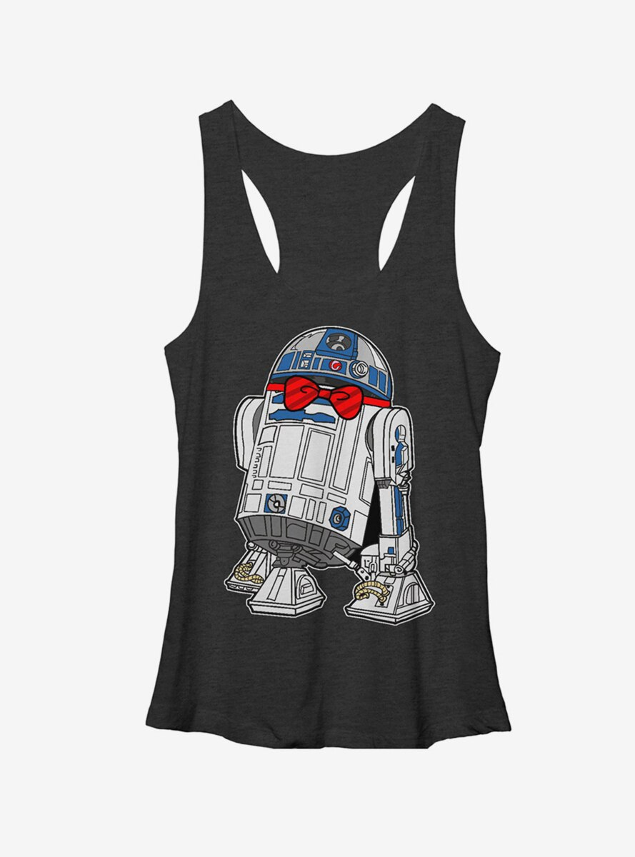 Star Wars R2D2 Bowtie Womens Tank