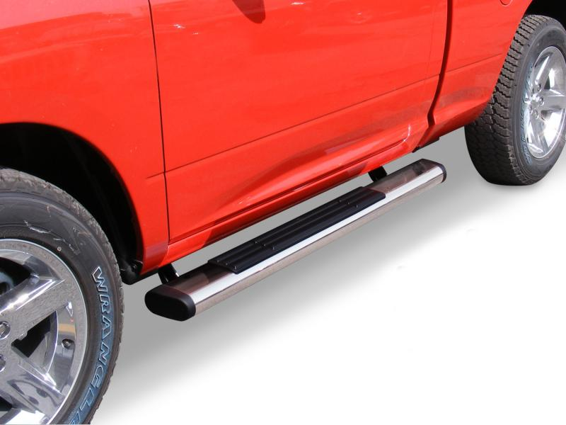 Go Rhino 660052PS 6 OE Xtreme Stainless SideSteps - 52 Long - Bars Only