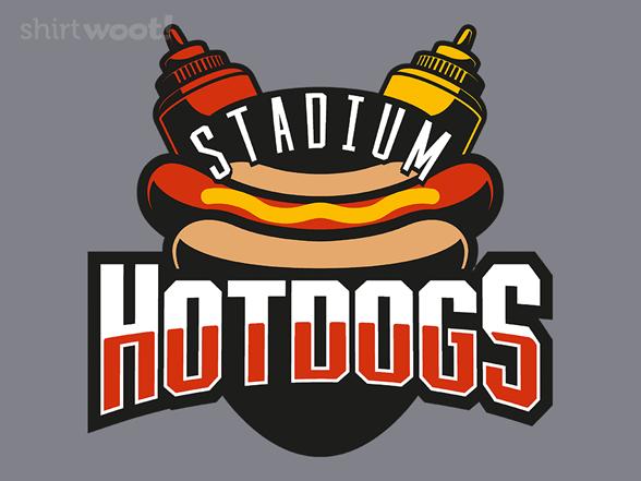 Stadium Hotdogs T Shirt