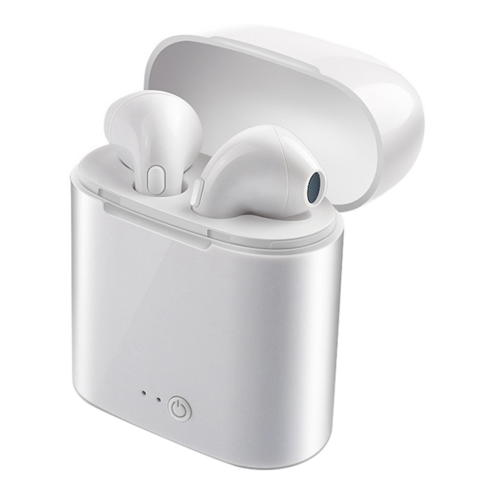 I7S TWS Wireless Bluetooth Earbuds 3 Hours Working Time for Android iOS - White