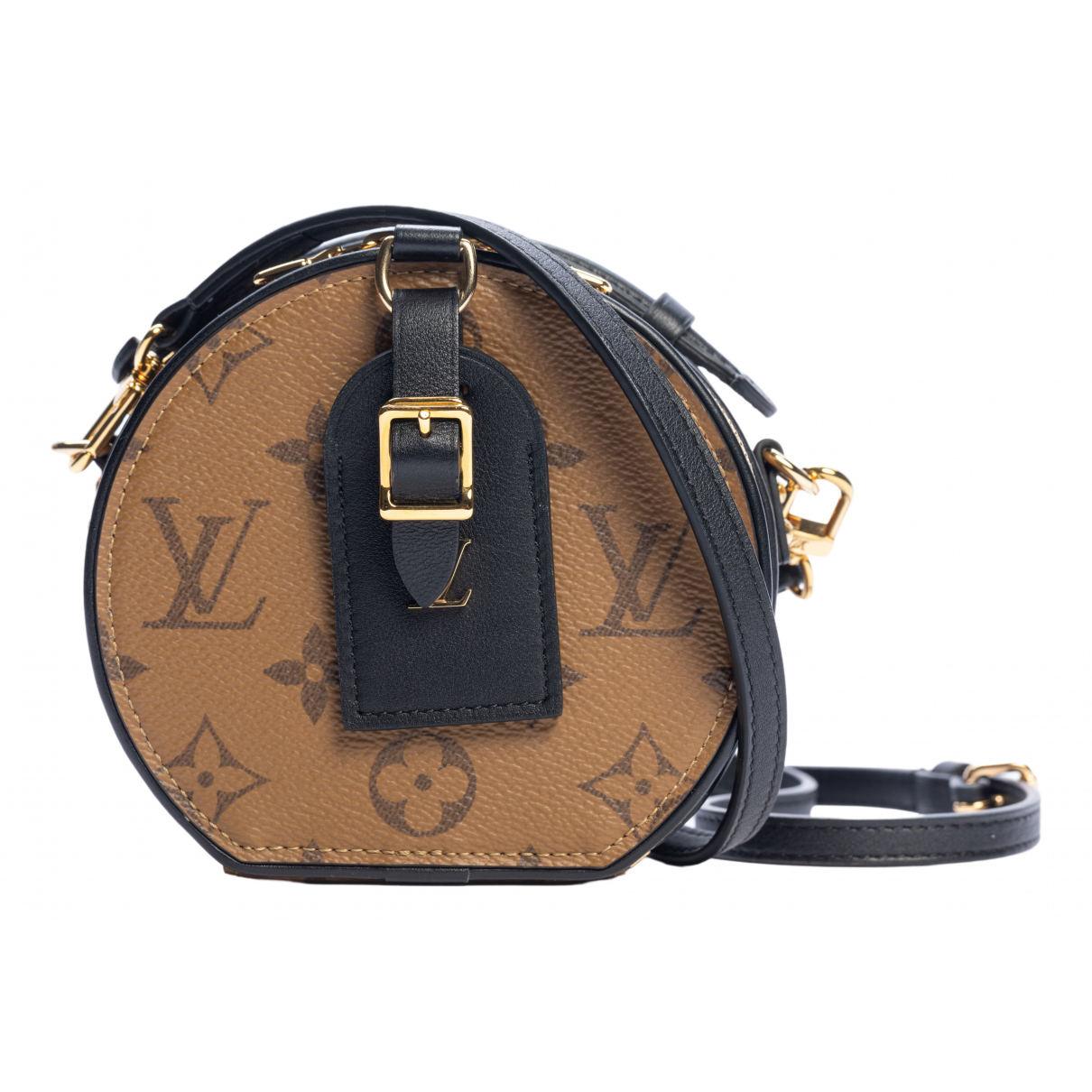 Louis Vuitton Boîte chapeau souple Brown Cloth handbag for Women \N