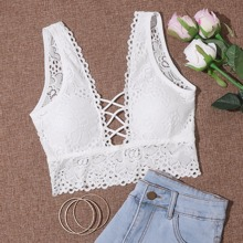 Lattice Lace Bralette