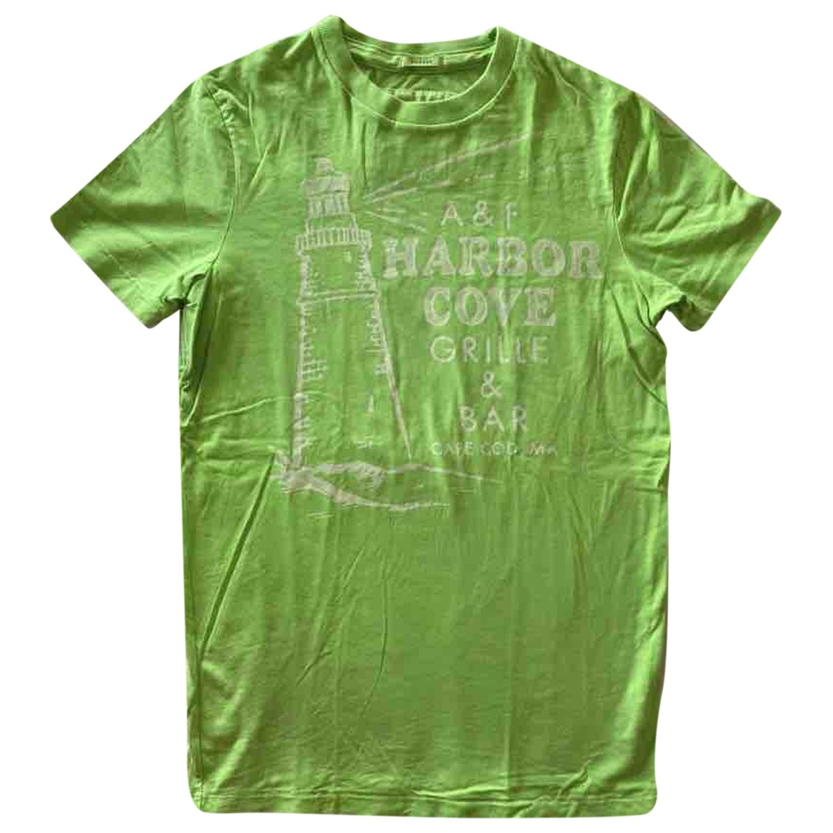 Abercrombie & Fitch \N Green Cotton T-shirts for Men S International