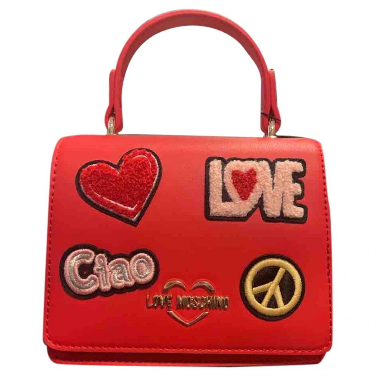 Moschino Love \N Red handbag for Women \N