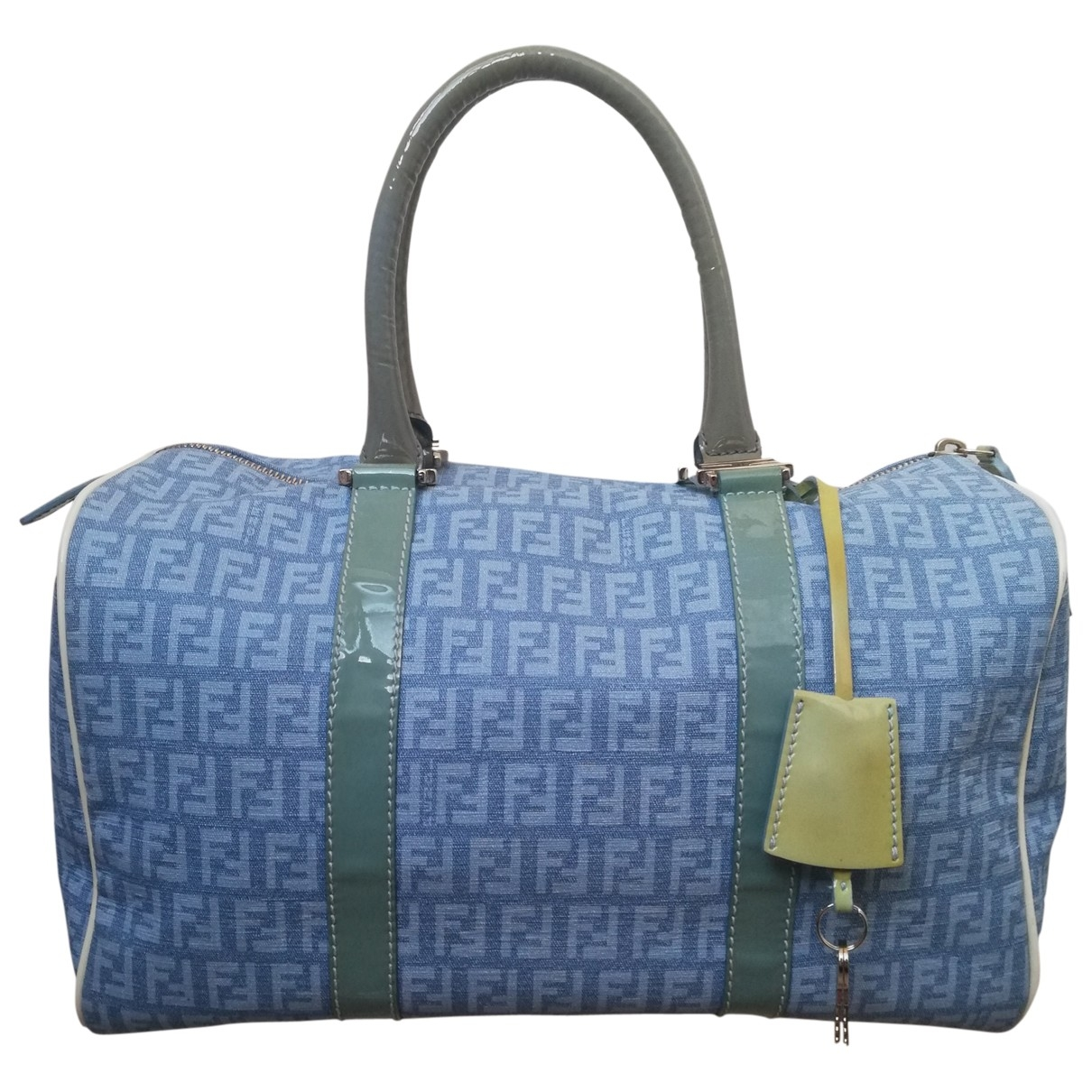 Fendi \N Turquoise Cloth handbag for Women \N