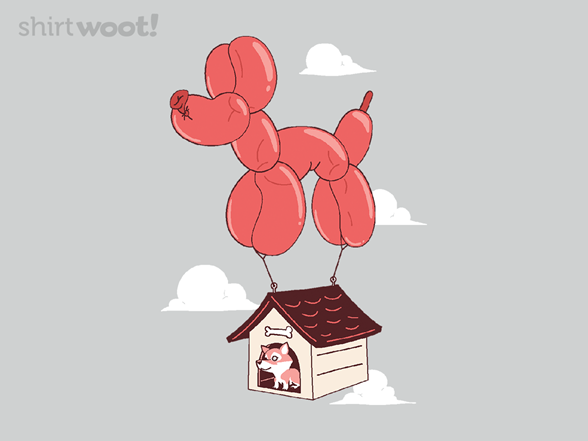 Canine Castaway T Shirt