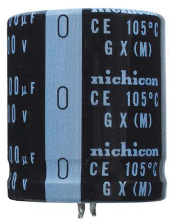 Nichicon 680μF Electrolytic Capacitor 250V dc, Through Hole - LGX2E681MELZ50 (2)