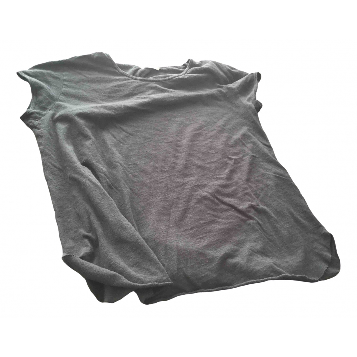 American Vintage \N Anthracite Cotton  top for Women S International