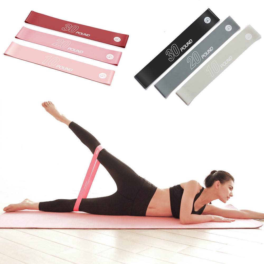 YUNMAI 10/20/30LB Resistance Loop Sets Yoga Belt Resistance Bands Elastic Bands For Fitness Exercise From Xiaomi Youpin