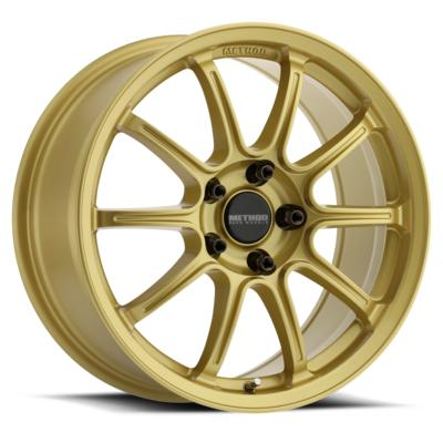 Method Race Wheels MR503 Rally, 17x8 with 5x4.5 Bolt Pattern - Gold - MR50378012142