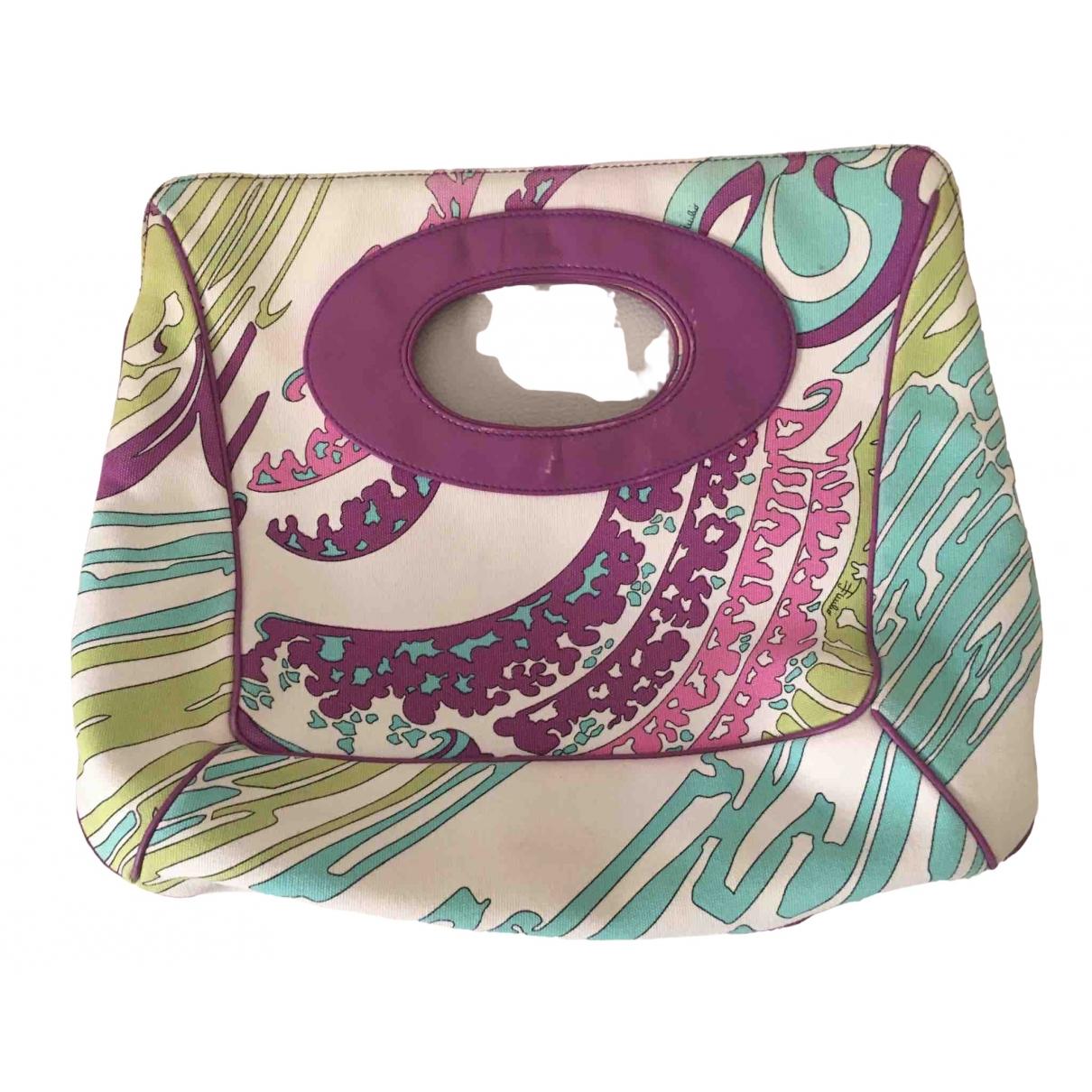 Emilio Pucci \N Multicolour Cloth handbag for Women \N