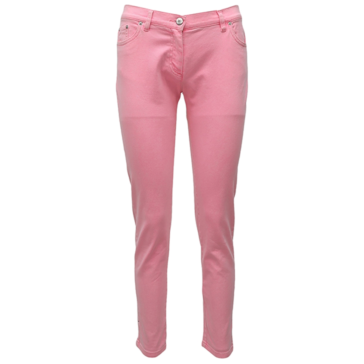 Kenzo \N Pink Cotton - elasthane Jeans for Women 36 FR