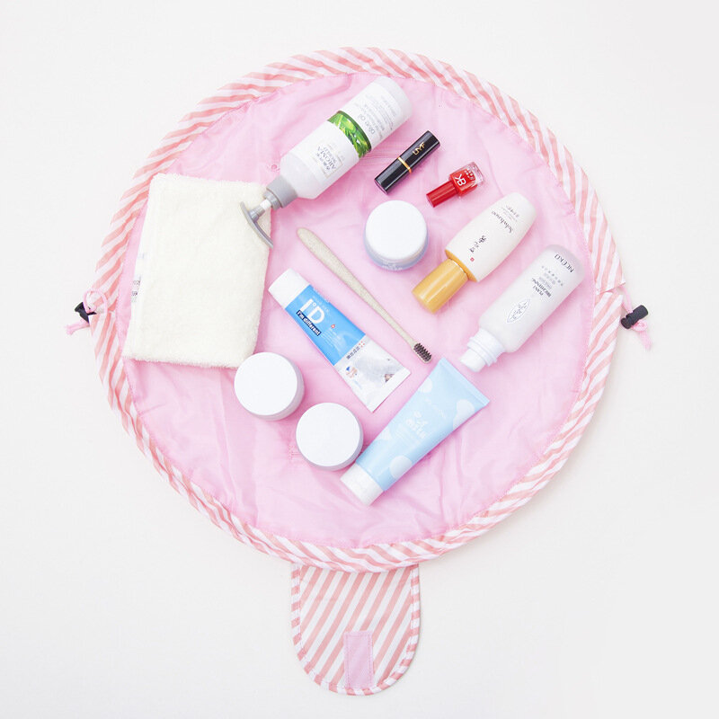 Quick Pack Large Capacity Cosmetic Bag Lazy Makeup Portable Waterproof Travel Bag