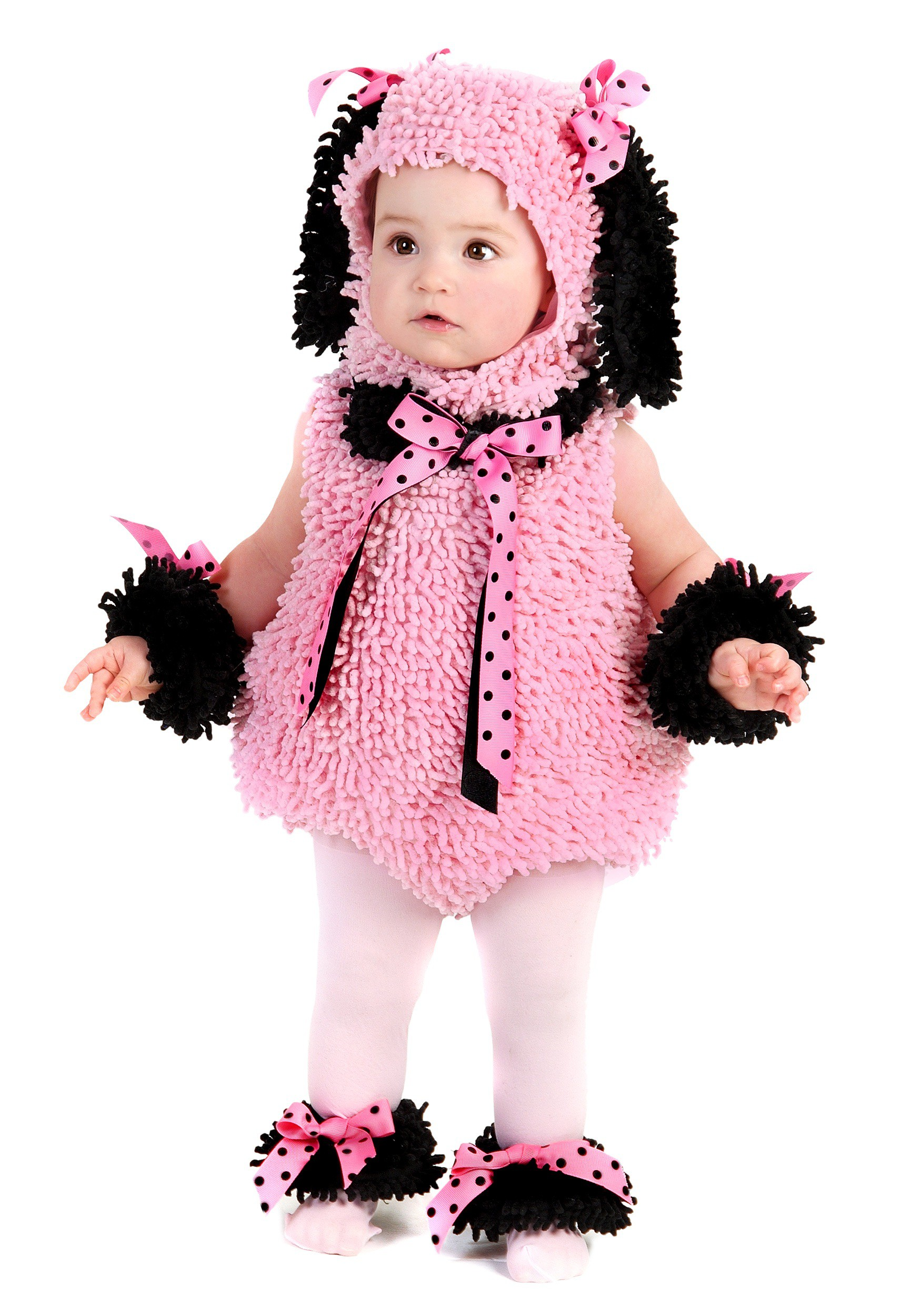 Pink Poodle Costume for Toddlers