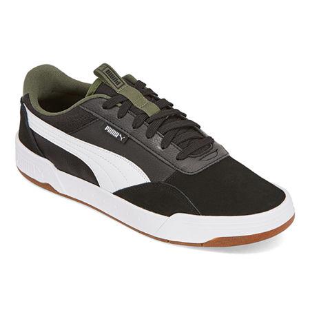Puma C-Skate Mens Skate Shoes, 7 1/2 Medium, Black