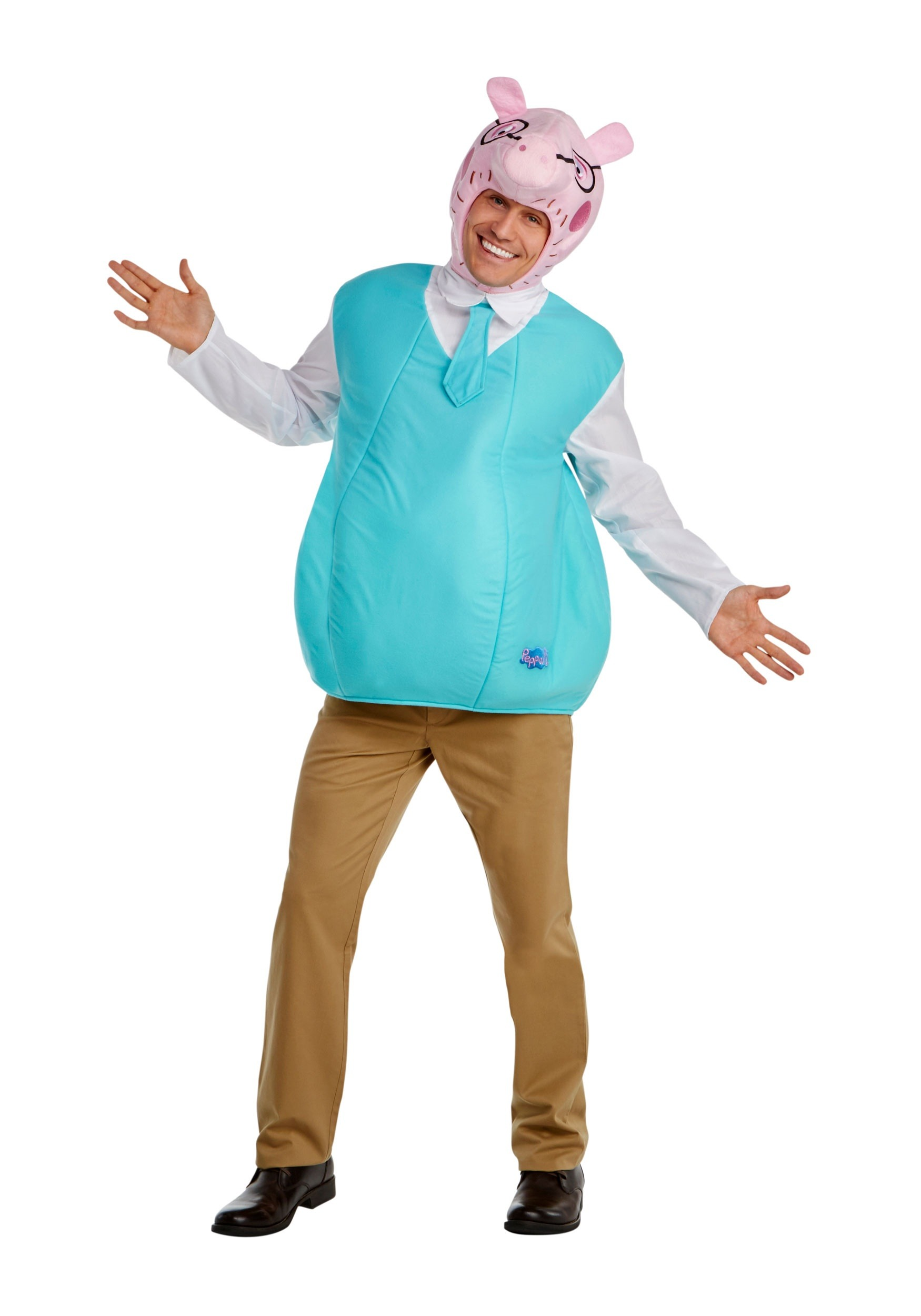 Men's Daddy Pig Costume from Peppa Pig
