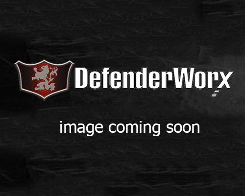 Defenderworx 901212 License Plate Frame Matte Black Engraved Logo Chevrolet Corvette C7 05-14