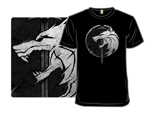 Whit3 W0lf T Shirt